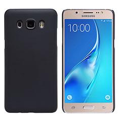 Hard Rigid Plastic Matte Finish Cover M02 for Samsung Galaxy J5 Duos (2016) Black