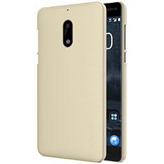 Hard Rigid Plastic Matte Finish Cover R01 for Nokia 6 Gold