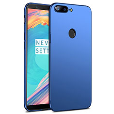 Hard Rigid Plastic Matte Finish Cover R02 for OnePlus 5T A5010 Blue