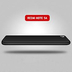 Hard Rigid Plastic Matte Finish Front and Back Case 360 Degrees for Xiaomi Redmi Note 5A Standard Edition Black