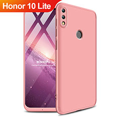 Hard Rigid Plastic Matte Finish Front and Back Cover 360 Degrees for Huawei Honor 10 Lite Rose Gold