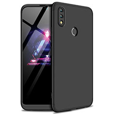 Hard Rigid Plastic Matte Finish Front and Back Cover Case 360 Degrees for Huawei Enjoy Max Black