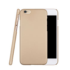 Hard Rigid Plastic Matte Finish Snap On Case for Apple iPhone 6S Gold