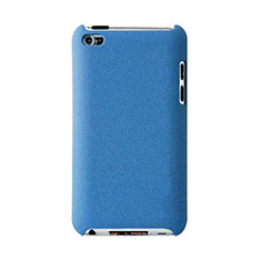 Hard Rigid Plastic Matte Finish Snap On Case for Apple iPod Touch 4 Sky Blue