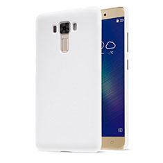 Hard Rigid Plastic Matte Finish Snap On Case for Asus Zenfone 3 Laser White