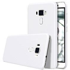 Hard Rigid Plastic Matte Finish Snap On Case for Asus Zenfone 3 ZE552KL White
