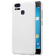 Hard Rigid Plastic Matte Finish Snap On Case for Asus Zenfone 3 Zoom White