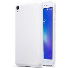 Hard Rigid Plastic Matte Finish Snap On Case for Asus Zenfone Live ZB501KL White