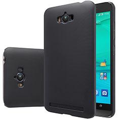 Hard Rigid Plastic Matte Finish Snap On Case for Asus Zenfone Max ZC550KL Black