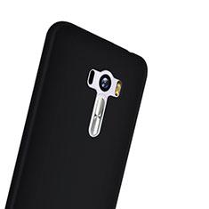 Hard Rigid Plastic Matte Finish Snap On Case for Asus Zenfone Selfie ZD551KL Black