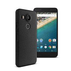 Hard Rigid Plastic Matte Finish Snap On Case for Google Nexus 5X Black
