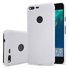 Hard Rigid Plastic Matte Finish Snap On Case for Google Pixel White
