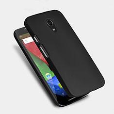 Hard Rigid Plastic Matte Finish Snap On Case for Motorola Moto G (2nd Gen) Black