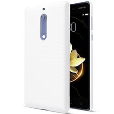 Hard Rigid Plastic Matte Finish Snap On Case for Nokia 5 White