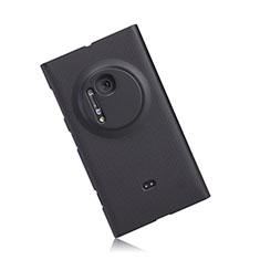 Hard Rigid Plastic Matte Finish Snap On Case for Nokia Lumia 1020 Black