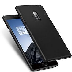 Hard Rigid Plastic Matte Finish Snap On Case for OnePlus 2 Black