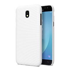 Hard Rigid Plastic Matte Finish Snap On Case for Samsung Galaxy J5 Pro (2017) J530Y White