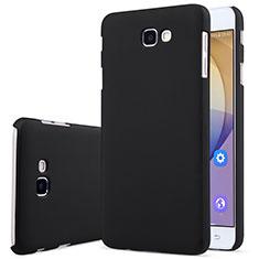 Hard Rigid Plastic Matte Finish Snap On Case for Samsung Galaxy J7 Prime Black
