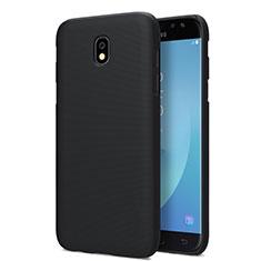 Hard Rigid Plastic Matte Finish Snap On Case for Samsung Galaxy J7 Pro Black