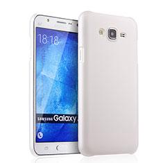 Hard Rigid Plastic Matte Finish Snap On Case for Samsung Galaxy J7 SM-J700F J700H White