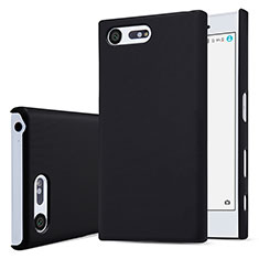 Hard Rigid Plastic Matte Finish Snap On Case for Sony Xperia X Compact Black
