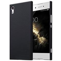 Hard Rigid Plastic Matte Finish Snap On Case for Sony Xperia XA1 Black