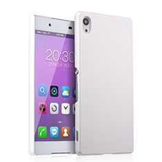 Hard Rigid Plastic Matte Finish Snap On Case for Sony Xperia Z4 White