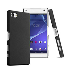 Hard Rigid Plastic Matte Finish Snap On Case for Sony Xperia Z5 Compact Black