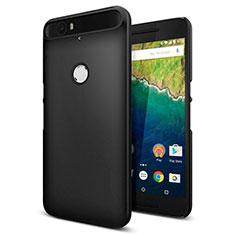 Hard Rigid Plastic Matte Finish Snap On Case M01 for Google Nexus 6P Black