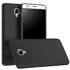 Hard Rigid Plastic Matte Finish Snap On Case M01 for OnePlus 3T Black