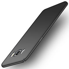 Hard Rigid Plastic Matte Finish Snap On Case M01 for Samsung Galaxy J5 Duos (2016) Black