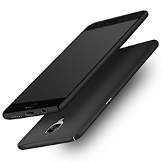 Hard Rigid Plastic Matte Finish Snap On Case M02 for OnePlus 3 Black