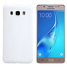 Hard Rigid Plastic Matte Finish Snap On Case M02 for Samsung Galaxy J5 Duos (2016) White