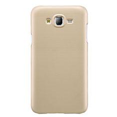 Hard Rigid Plastic Matte Finish Snap On Case M02 for Samsung Galaxy J7 SM-J700F J700H Gold