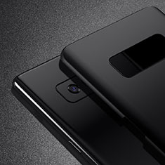 Hard Rigid Plastic Matte Finish Snap On Case M02 for Samsung Galaxy Note 8 Duos N950F Black