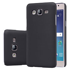 Hard Rigid Plastic Matte Finish Snap On Case M02 for Samsung Galaxy On5 Pro Black