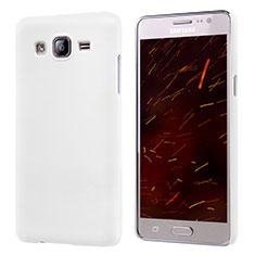Hard Rigid Plastic Matte Finish Snap On Case M02 for Samsung Galaxy On5 Pro White