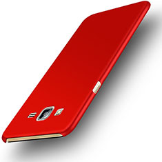 Hard Rigid Plastic Matte Finish Snap On Case M02 for Samsung Galaxy On7 Pro Red