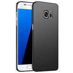 Hard Rigid Plastic Matte Finish Snap On Case M02 for Samsung Galaxy S7 G930F G930FD Black