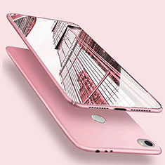 Hard Rigid Plastic Matte Finish Snap On Case M02 for Xiaomi Mi Max Pink