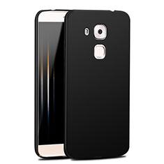 Hard Rigid Plastic Matte Finish Snap On Case M04 for Huawei G9 Plus Black