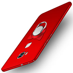 Hard Rigid Plastic Matte Finish Snap On Case M04 for Huawei GR5 Red