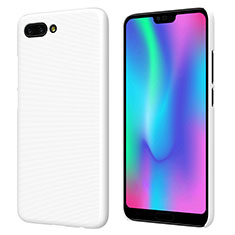 Hard Rigid Plastic Matte Finish Snap On Case M05 for Huawei Honor 10 White