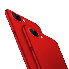 Hard Rigid Plastic Matte Finish Snap On Case M05 for OnePlus 5 Red