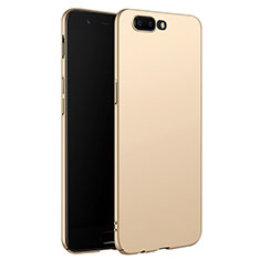 Hard Rigid Plastic Matte Finish Snap On Case M06 for OnePlus 5 Gold
