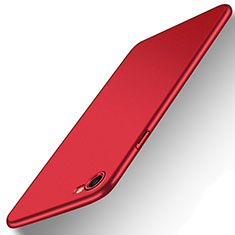 Hard Rigid Plastic Matte Finish Snap On Case M07 for Apple iPhone SE (2020) Red