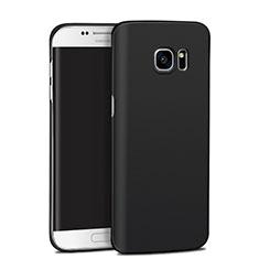 Hard Rigid Plastic Matte Finish Snap On Case M11 for Samsung Galaxy S7 Edge G935F Black
