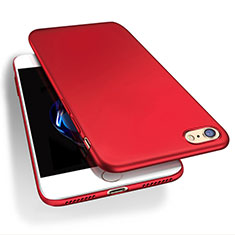 Hard Rigid Plastic Matte Finish Snap On Case Q03 for Apple iPhone SE (2020) Red