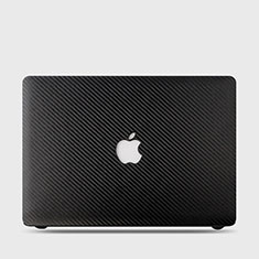 Hard Rigid Plastic Matte Finish Twill Snap On Case Cover for Apple MacBook Air 13 inch (2020) Black
