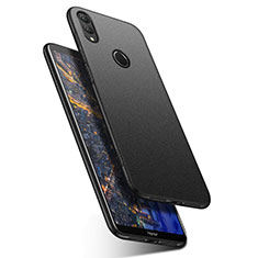 Hard Rigid Plastic Quicksand Cover Case for Huawei Honor Note 10 Black